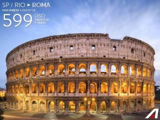 Passagens para a Itália com a Alitalia
