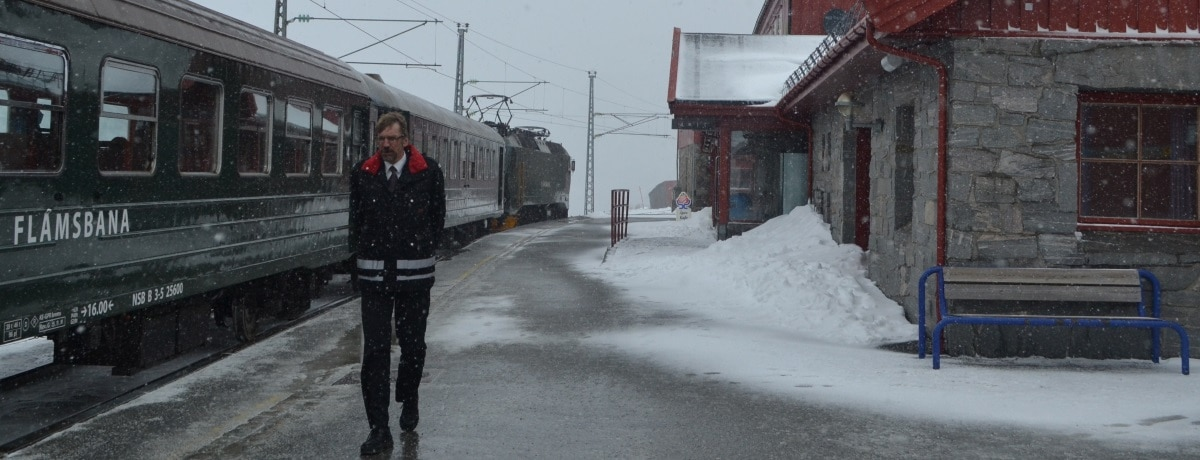 Estação Myrdal, ferrovia Flam