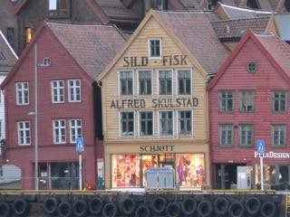 Bergen, a entrada para os fiordes da Noruega