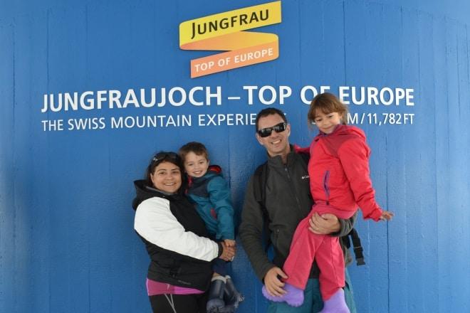 jungfraujoch-family