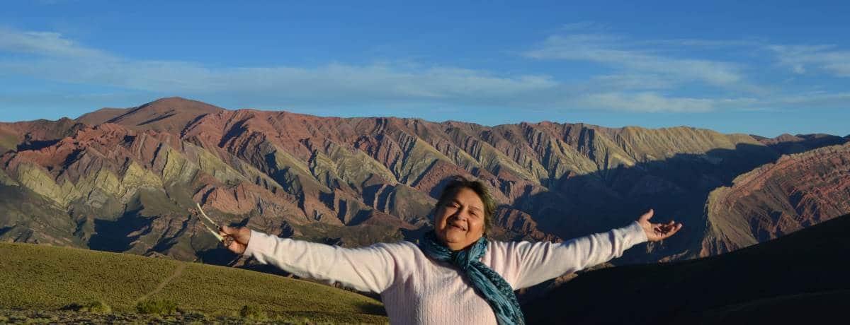 Humahuaca e as 14 cores das Serranías del Hornocal