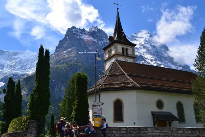 grindelwald church