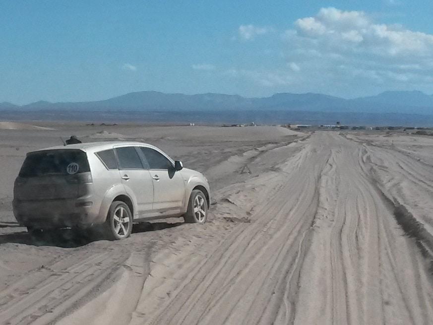 Quebramos o carro na Bolívia