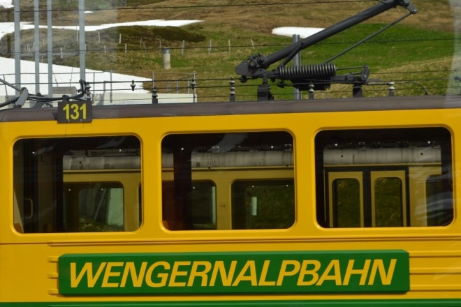Jungfrau-train