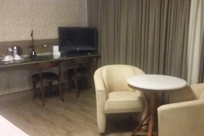 Hotel Villa Bella Gramado mesa e bancada