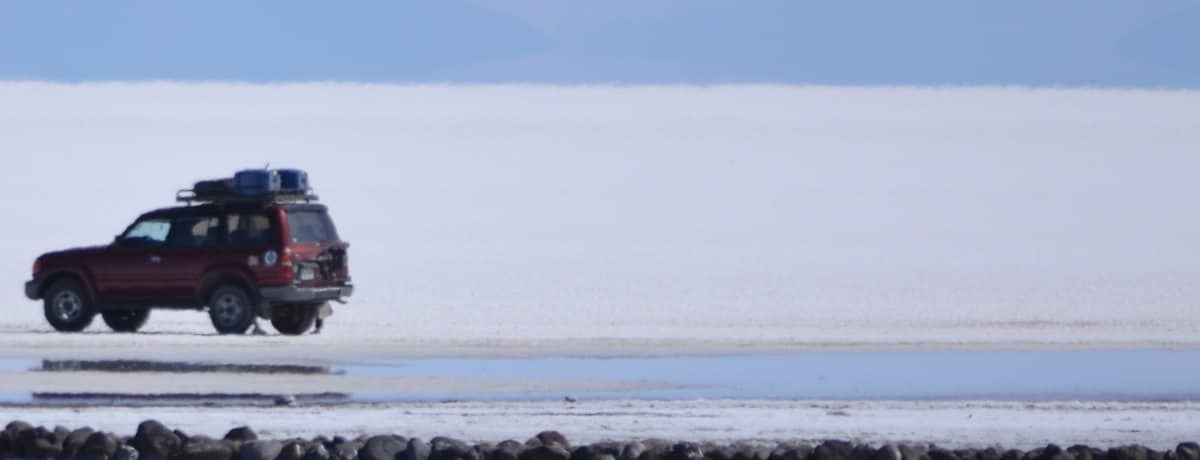 Nosso dia  no Salar de Uyuni